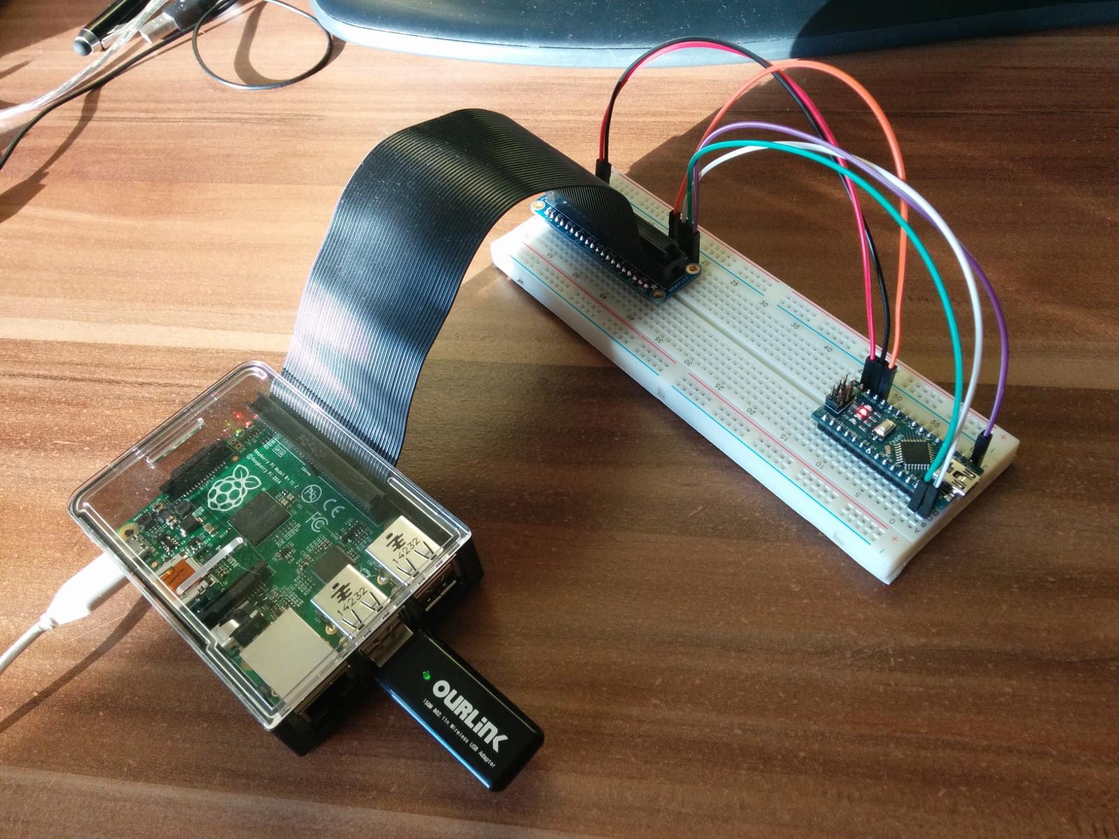 Using Raspberry Pi As An Arduino Avr Programmer Luk Lalinsk Atmel Usb Atmega8